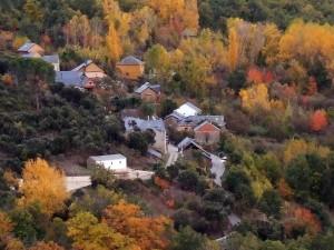 Vista del pueblo de Labaniego desde el Sardonal. (foto de Trapote)
