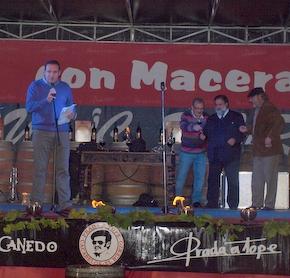 Ángel Osorio fue el mantenedor de la fiesta