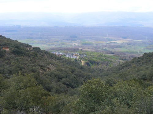 Vistas panorámicas del Valle del Boeza y Tedejo