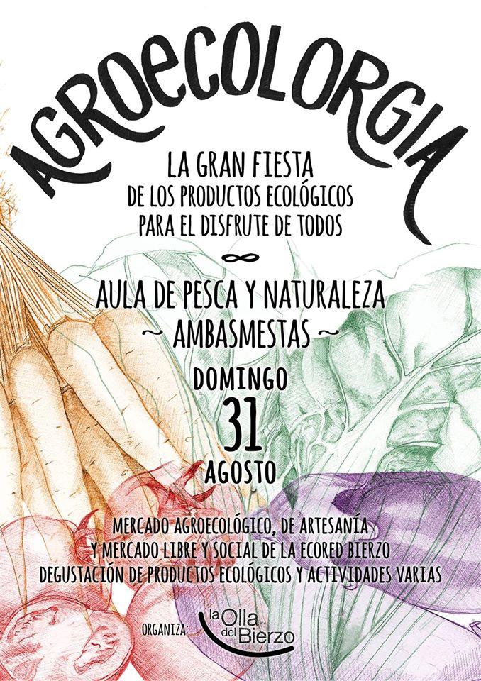 FIESTA DE LA AGROECOLORGIA en Ambasmestas