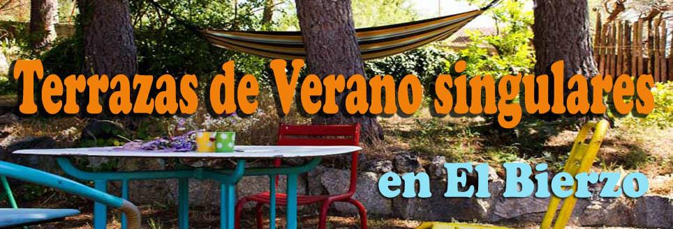 TERRAZAS DE VERANO SINGULARES EN EL BIERZO (1/6)