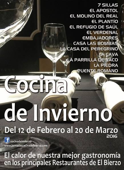 cocina de invierno 2016, El Bierzo